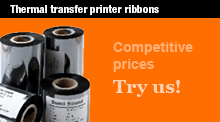 Large range of transfer ribbons