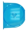 Amaray swing tray for 1 disc, BLUE