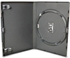 DVD-case Amaray 14 mm for 1 disc BLACK PP