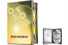 DVD-case Scanavo 22mm 2/one Xtra Overlap, GREY PP
