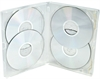 DVD-case Amaray MultiBox 15 mm 4-6 discs CLEAR PP