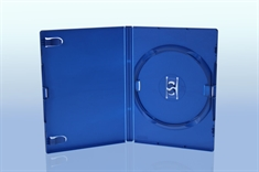 PS2 DVD-case for 1 disc, BLUE PP