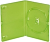 DVD-case Amaray 14 mm for 1 disc GREEN PP