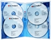 DVD-case Scanavo 22mm 4/one Xtra Overlap, TRANSPARENT PP