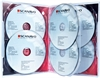 DVD-case Scanavo 22mm 6/one Xtra Overlap, TRANSPARENT PP