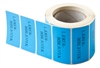 Label 49x24.5. Custom printed, BLUE - 1000 pcs.