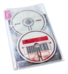 RFID DVD pouch for 1-2 discs. Pictogram, PP