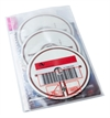 RFID DVD pouch for 1-3 discs. Pictogram, PP